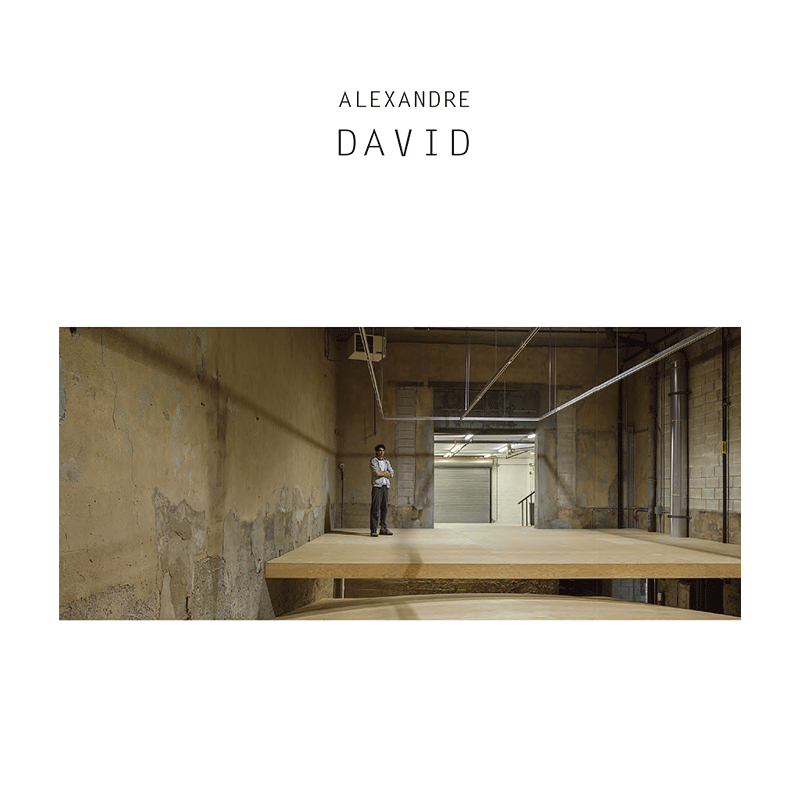 Alexandre David, couverture