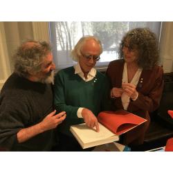 Cozic et Gilles Daigneault, lors du lancement. Photo : Marie-Claude Plasse