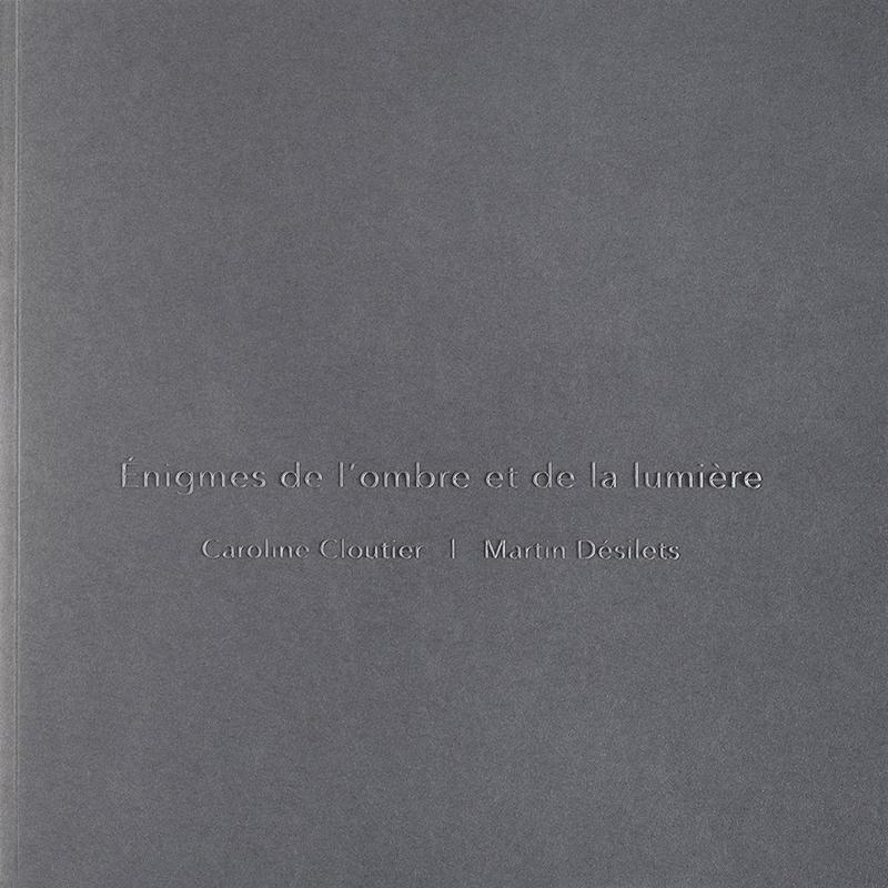 Énigmes, page couverture